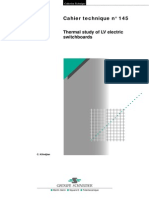 Thermal Study of LV Electric Switchboards