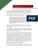 FABRICACIÓN DE LA GASOLINA COMERCIAL