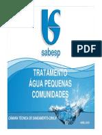 Tratam Agua Pequenas Comunidades Ctcisoladas 26-05-09