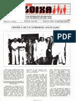 LLOIXA. Número 61, julio/juliol, 1987. Butlletí Informatiu de Sant Joan. Boletín informativo de Sant Joan.  Autor