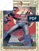 Transformers #1 (1984) Hundred Penny Press Edition Preview