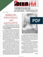 LLOIXA. Número 73, mayo/maig, 1989. Butlletí Informatiu de Sant Joan. Boletín informativo de Sant Joan.  Autor