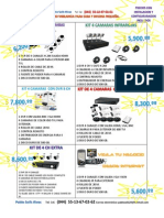 Catalogo de Precios Camras, Mantenieminto y Mas