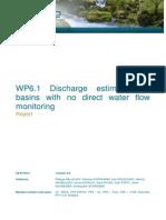 discharge Estimation Methods