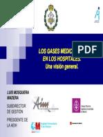 Vision General - Los Gases Medicinales en Hospitales