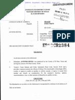 Reyes v. USA Indictment