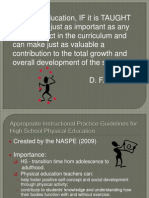 appropriate instructional practices for hs -1