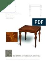 Paladin by Ryan Schlaefer Fine Furniture