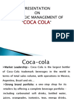 A ppt on coca cola