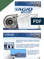 Presentación de Biagio Turbos PERU