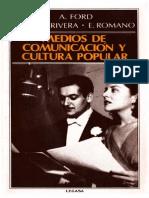 168758890 Jorge B Rivera Ford Romano Medios de Comunicacion y Cultura Popular