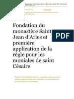 St Jean Moniales Arles