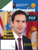 New Jersey Jewish Standard, March 14, 2014