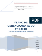 Plano de Gerenciamento Do Projeto 787-Ms