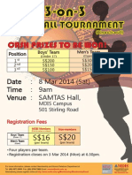 Registration Form & Regulations 2014