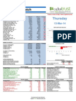 Daily Stock Watch 13 03 2014