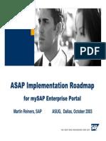 EP ASAP Implementation