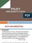 Akm f Policy Implementation