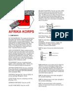 AfrikaKorps 3d Ed Rules - B