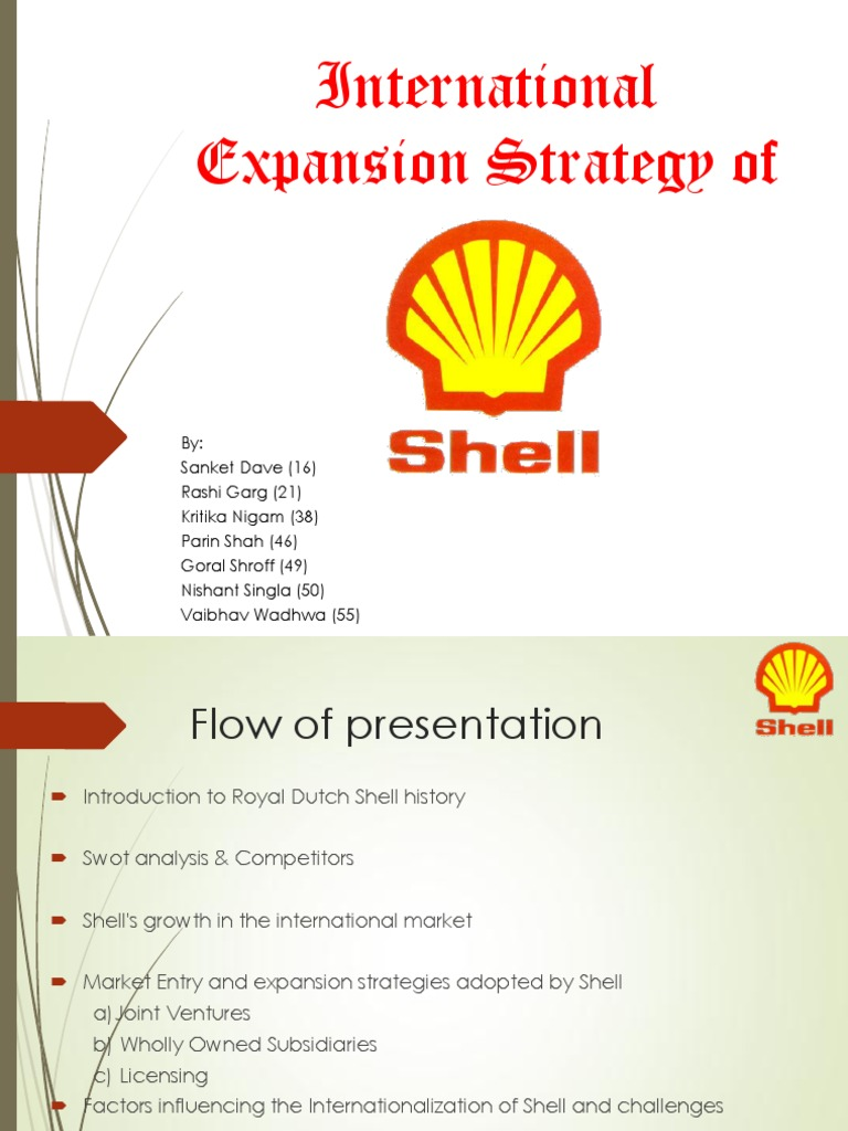 Shell International Marketing pptx | Royal Dutch Shell