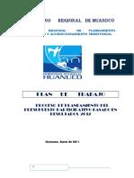 Plan de Trabajo Gobierno Regional