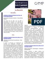 Newsletter CAMMP Intercalar Fevereiro 2014