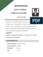 Michael Carrasco Ybarra