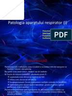 Patologia Aparatului Respirator I