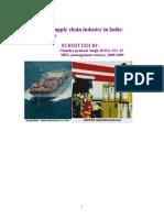 16630780 Logistics Industry Project