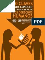 Claves Para Conocer y Comprender Mejor Los Derechos Humanos