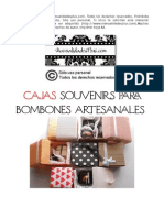 Cajas Souvenirs Para Bombones Artesanales