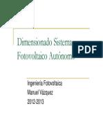 Dimensionado Sistema Fotovoltaico1213 P2