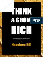 Think and Grow Rich Napoleon Hill RET