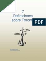7 Definiciones Sobre Toronto