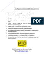 Auditoria Simples Ao Programa de Controle de ESD