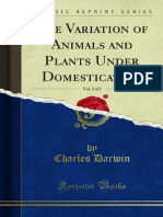 The Variation of Animals and Plants Under Domestication v2 1000012094