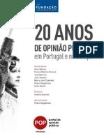 20 Anos Opiniao Publica Portugal eBook
