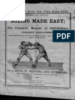 Boxing Made Easy - Pupil of Mendoza and Humphreys 1865