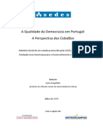 A Qualidade Da Democracia Em Portugal