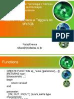 Funcoes Triggers