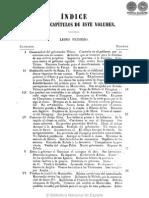 Ensayo de la historia civil de Buenos Aires - Indice - 1856 - portalguarani