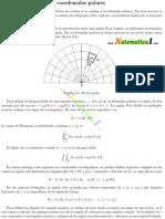 Teoria de Integrales Dobles en Coordenadas Polares