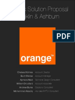 Orange Challenge Proposal