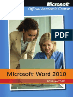 moacmicrosoftword2010exam778811