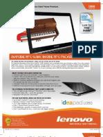 Lenovo U350 Notebook