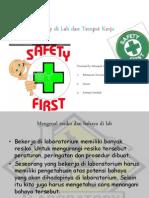 Konsep Dasar Safety Di Lab Dan Tempat Kerja FIX
