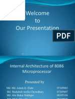 Internal Architecture of Intel 8086,Final