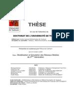 Thèse_Modélisation et Simulation des Réseaux Mobiles4G