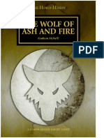 Wolf of Ash and Fire - Graham McNeill