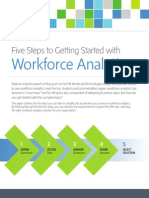 Five Steps to Workforce Analytics